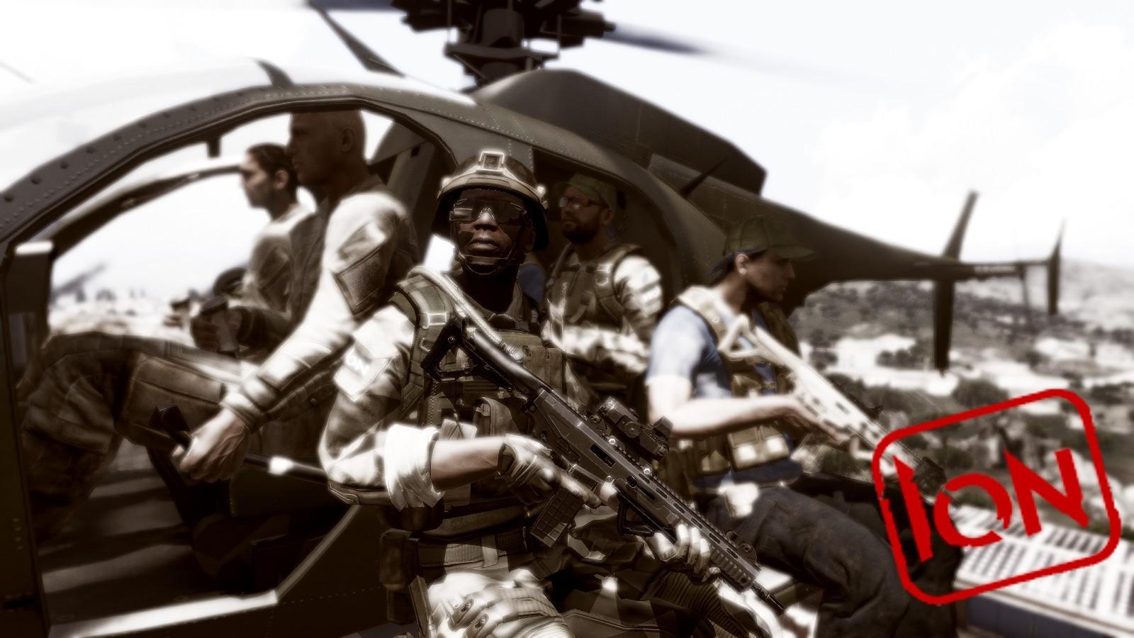 Campaign M E R C S  | Make Arma Not War