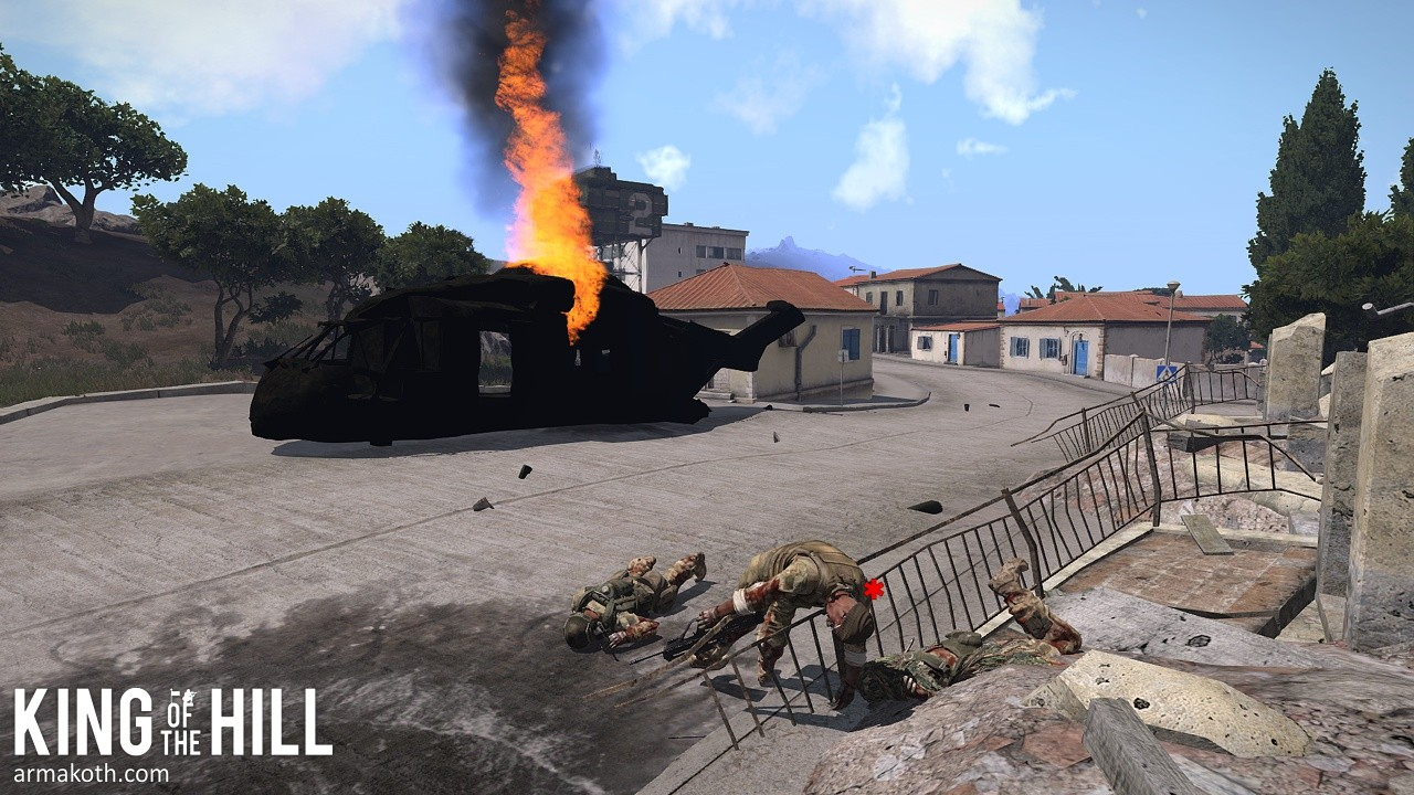 King of the Hill   Make Arma Not War