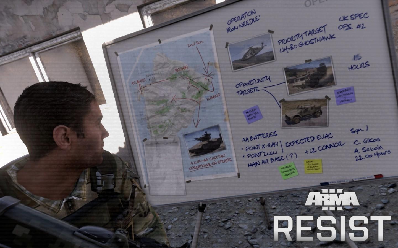 RESIST | Make Arma Not War